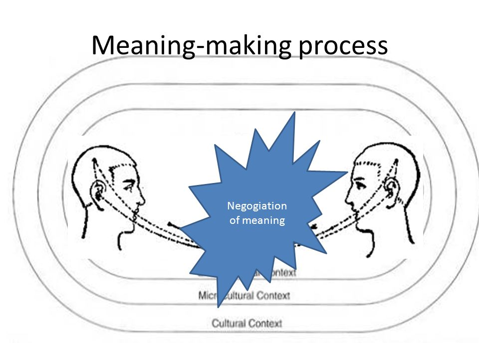 Meaning-making process