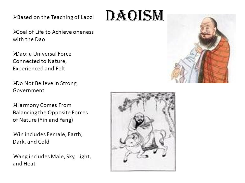 Daoism Based on the Teaching of Laozi