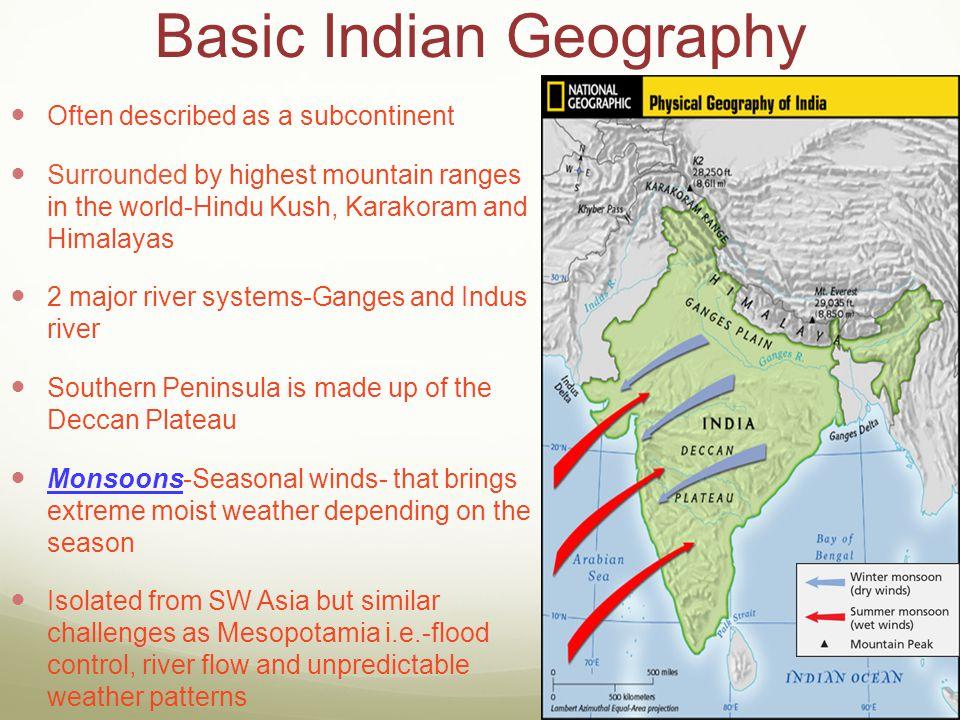Basic Indian Geography
