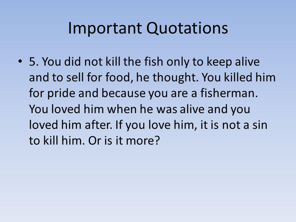 Important Quotations