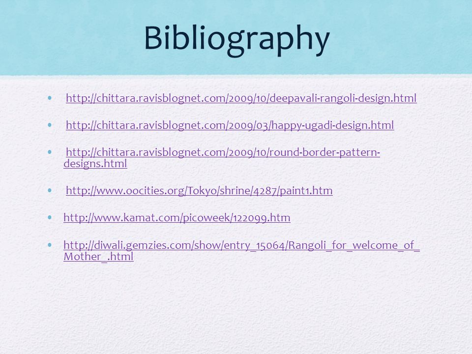 Bibliography http://chittara.ravisblognet.com/2009/10/deepavali-rangoli-design.html.