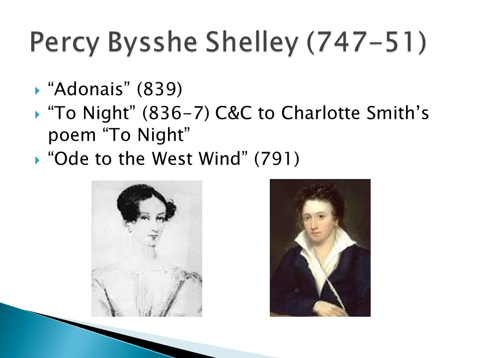Percy Bysshe Shelley (747-51)