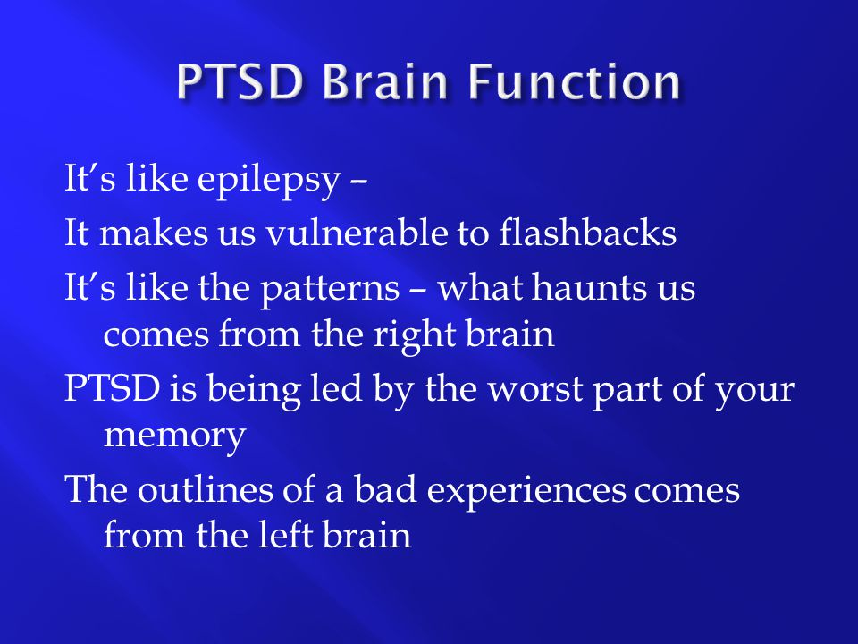 PTSD Brain Function