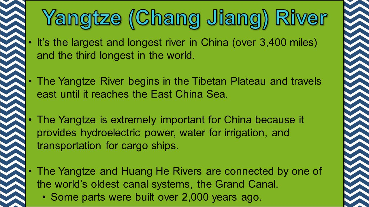 Yangtze (Chang Jiang) River
