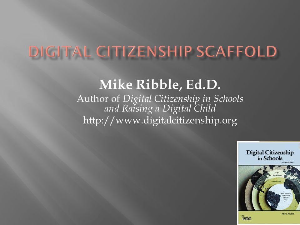 Digital Citizenship Scaffold
