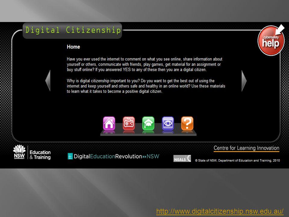 http://www.digitalcitizenship.nsw.edu.au/