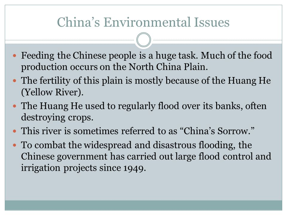 China's Environmental Issues