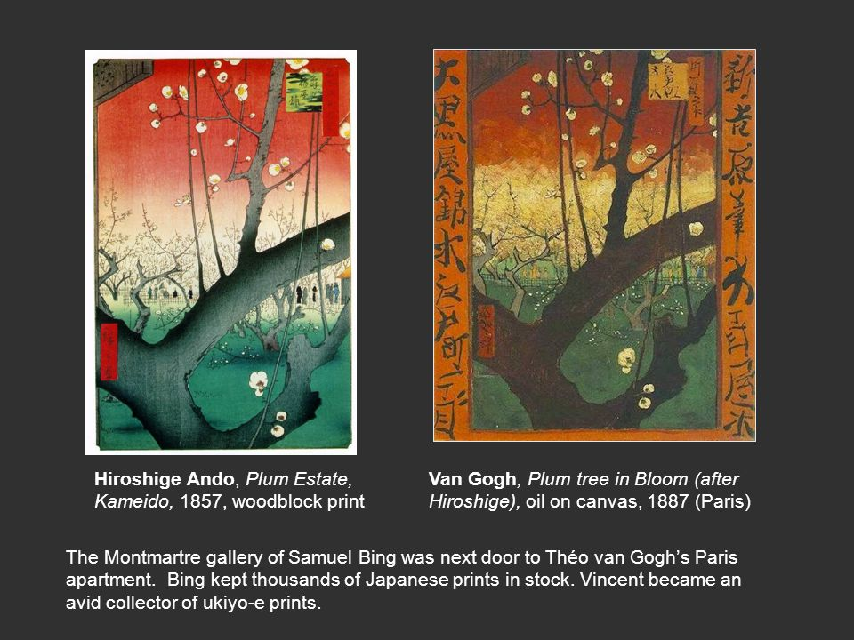 Hiroshige Ando, Plum Estate,