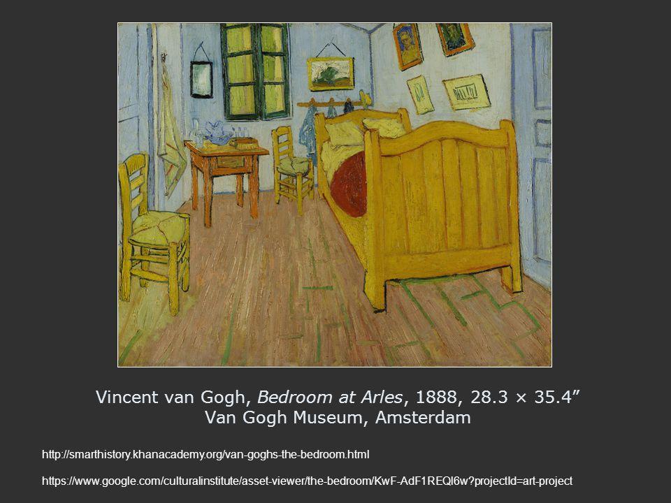 Vincent van Gogh, Bedroom at Arles, 1888, 28. 3 × 35