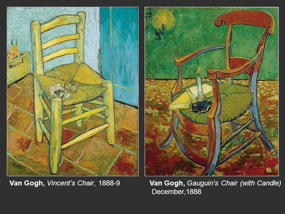 Van Gogh, Vincent's Chair, 1888-9