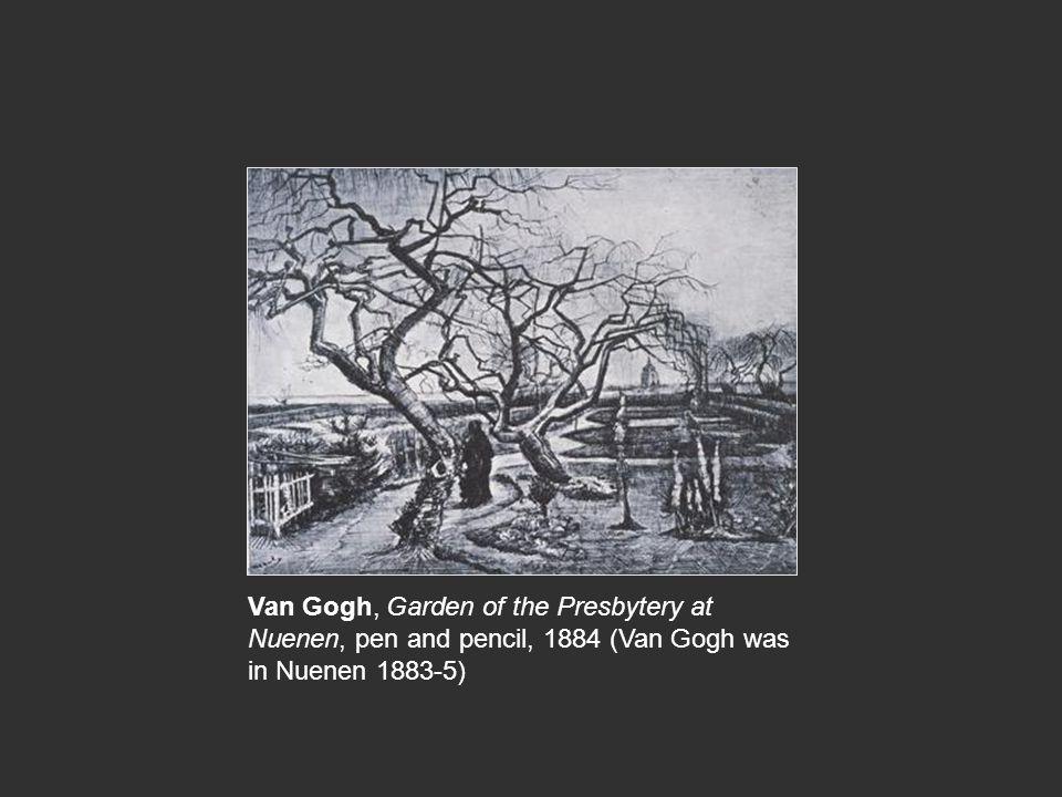 Van Gogh, Garden of the Presbytery at