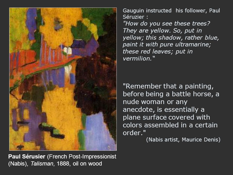 Paul Sérusier (French Post-Impressionist