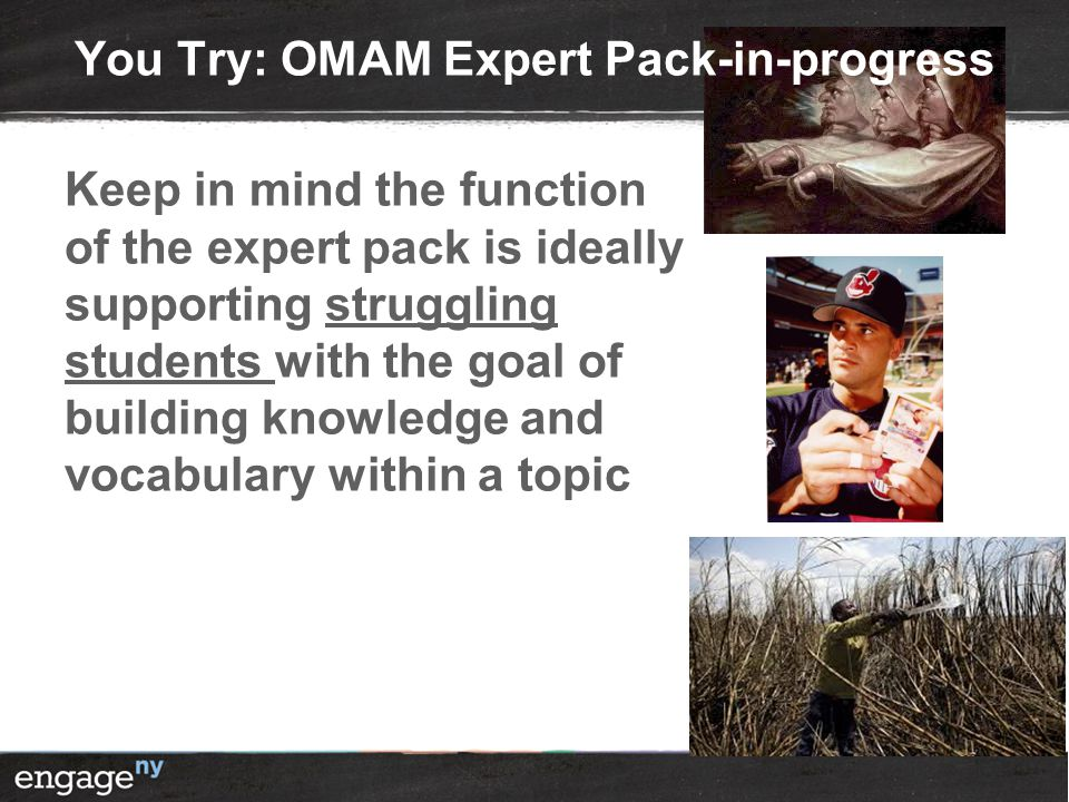 You Try: OMAM Expert Pack-in-progress