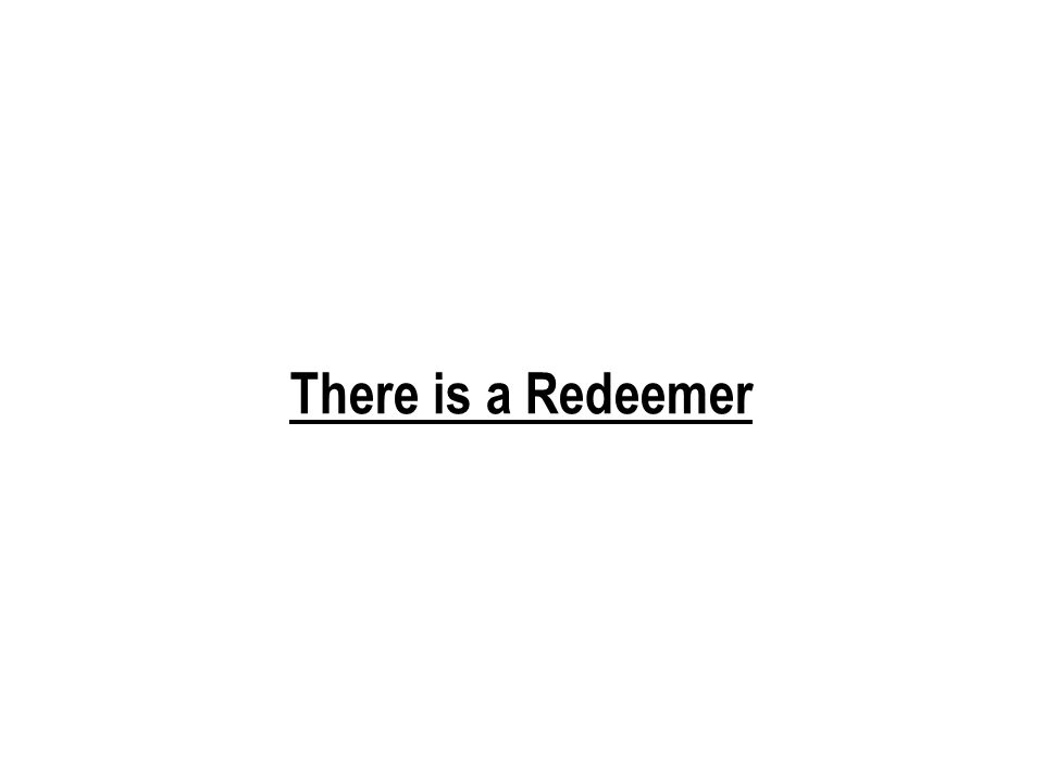 There is a Redeemer 242 242