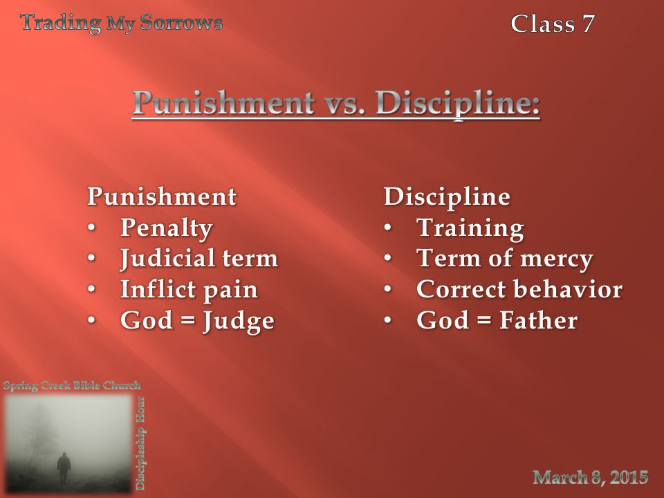 Punishment vs. Discipline: