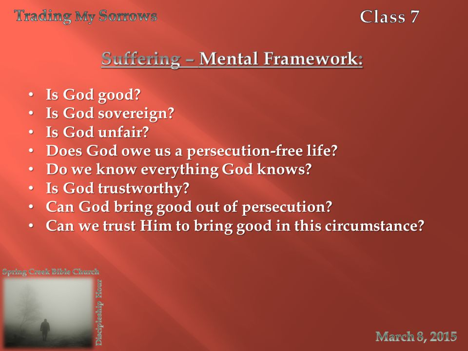 Suffering – Mental Framework: