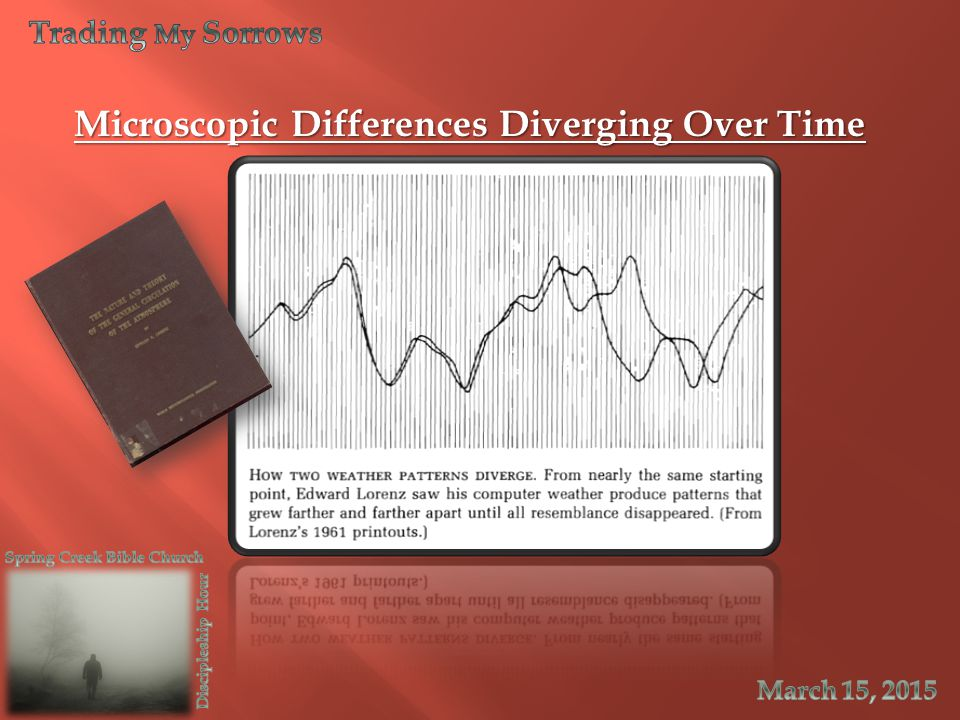 Microscopic Differences Diverging Over Time
