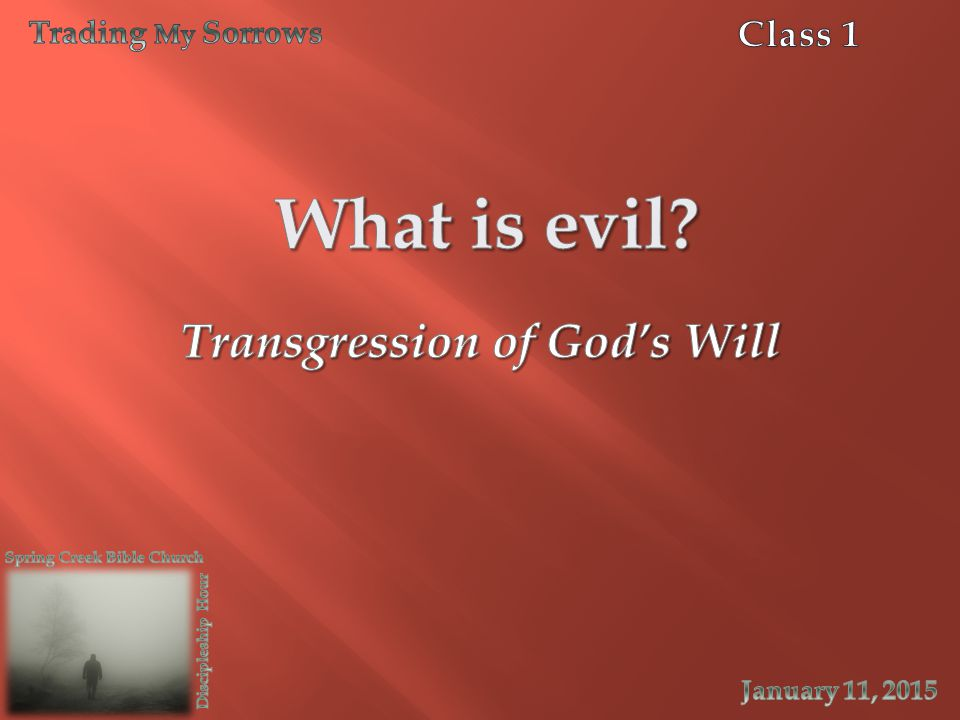 Transgression of God's Will