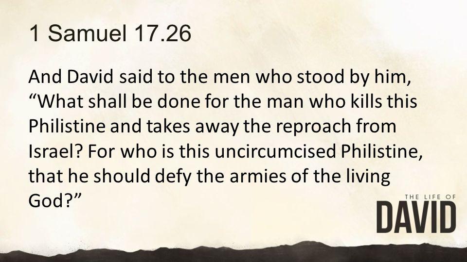1 Samuel 17.26