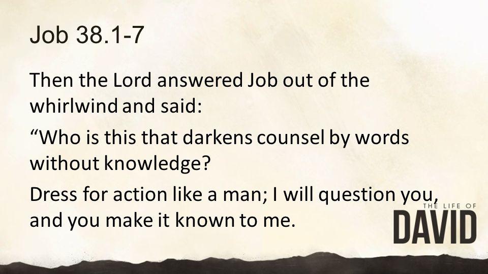 Job 38.1-7
