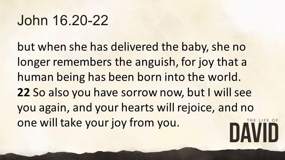 John 16.20-22