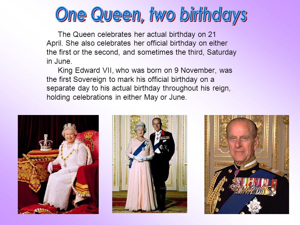 One Queen, two birthdays