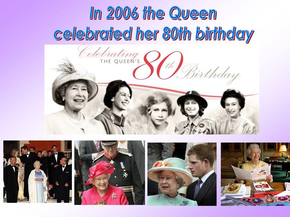 celebrated her 80th birthday