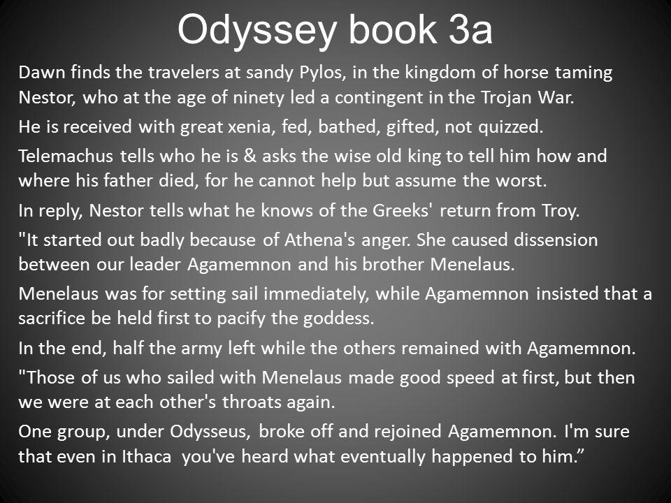 Odyssey book 3a