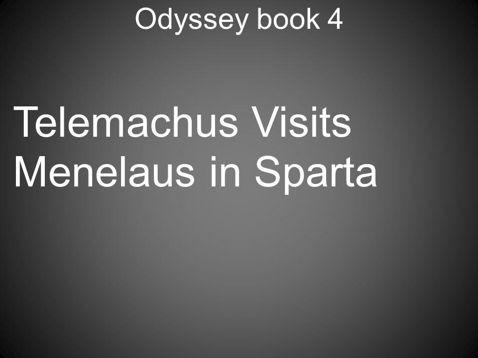 Telemachus Visits Menelaus in Sparta