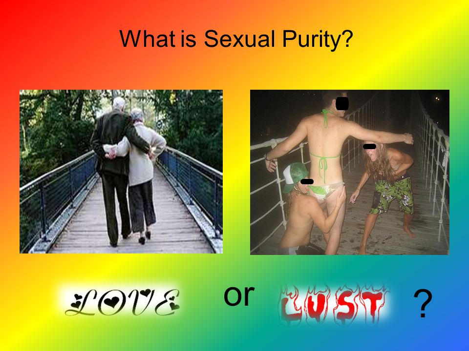 What is Sexual Purity or