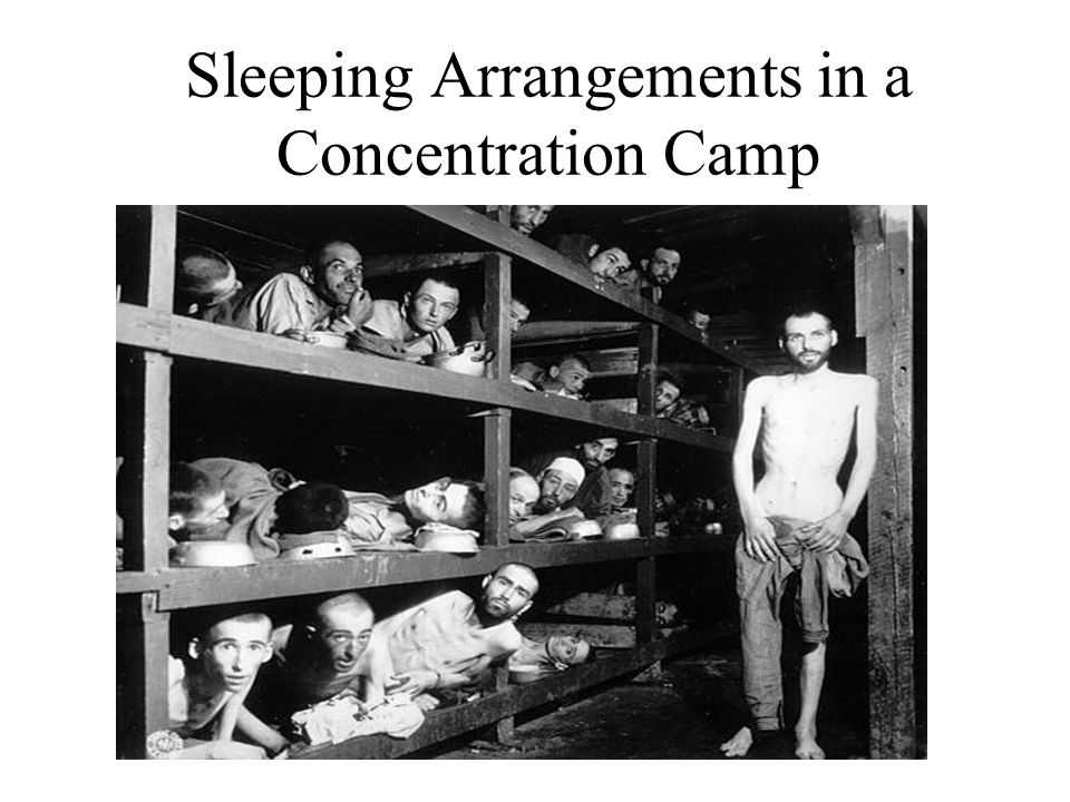 Sleeping Arrangements in a Concentration Camp