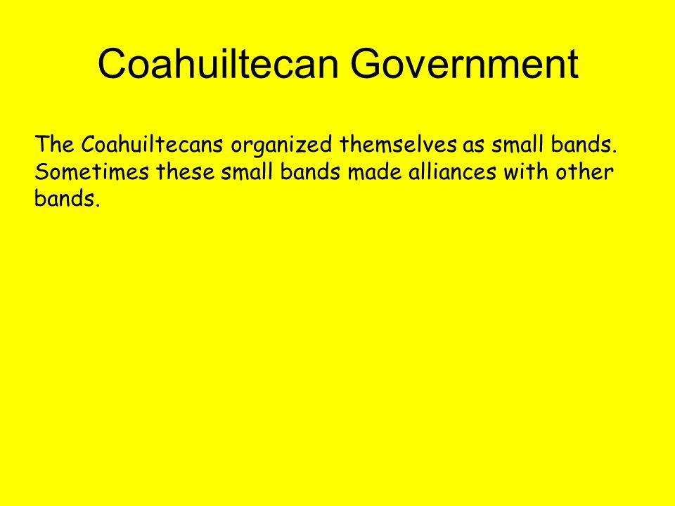 Coahuiltecan Government