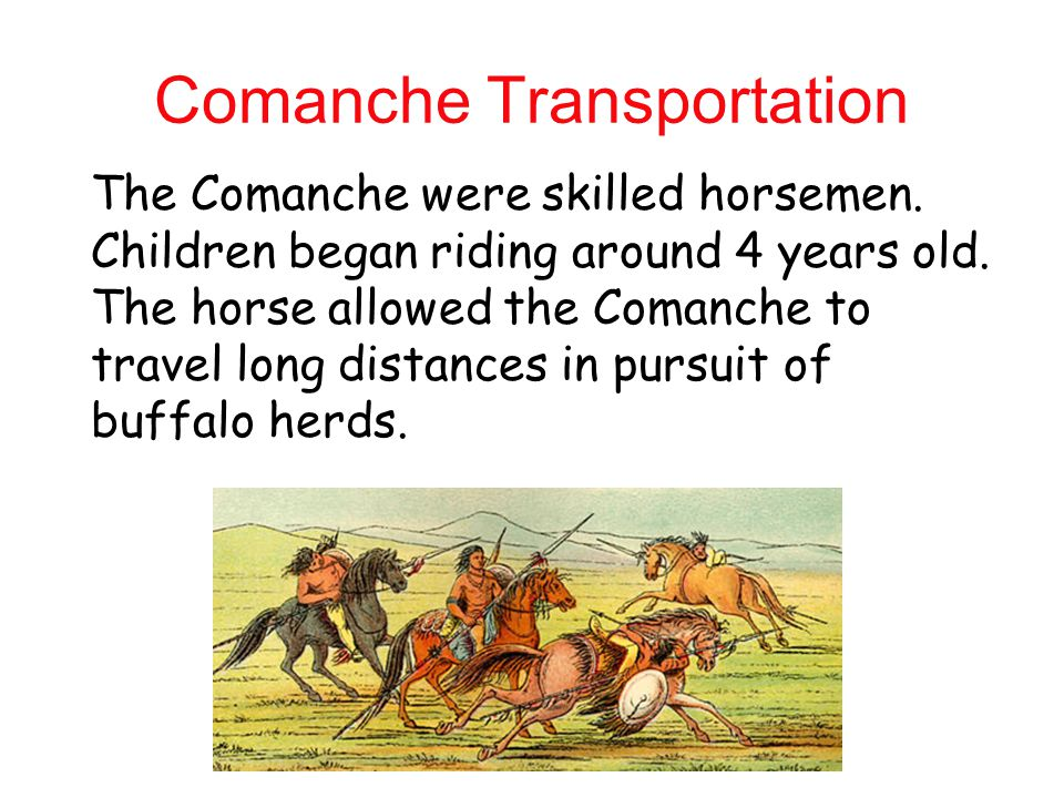 Comanche Transportation