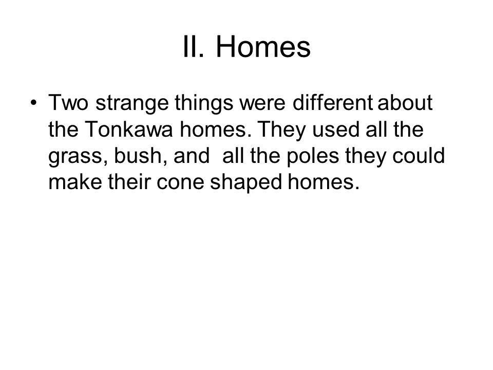 II. Homes