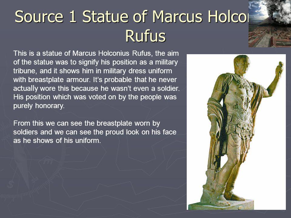 Source 1 Statue of Marcus Holconius Rufus