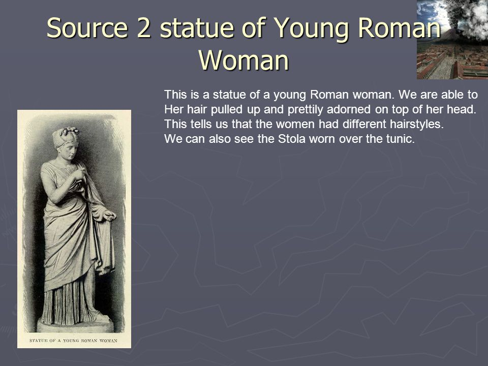 Source 2 statue of Young Roman Woman