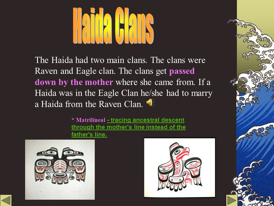 Haida Clans