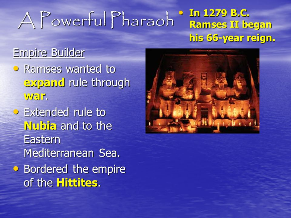 A Powerful Pharaoh Empire Builder