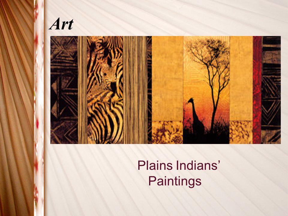 Art Plains Indians' Paintings