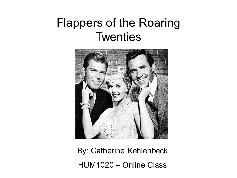 Flappers of the Roaring Twenties