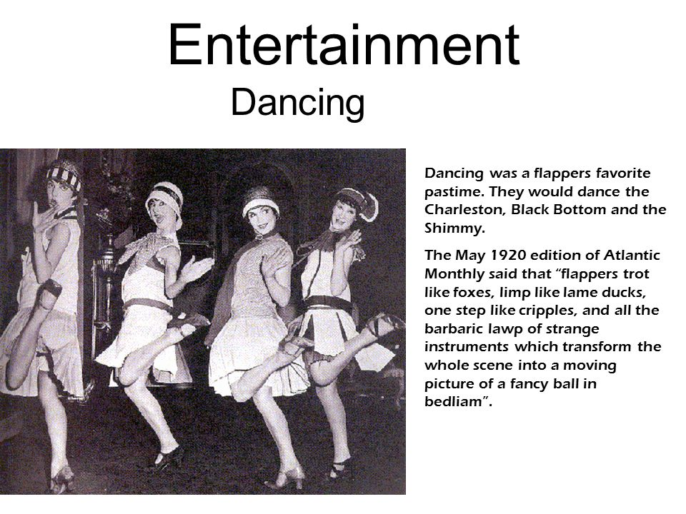 Entertainment Dancing