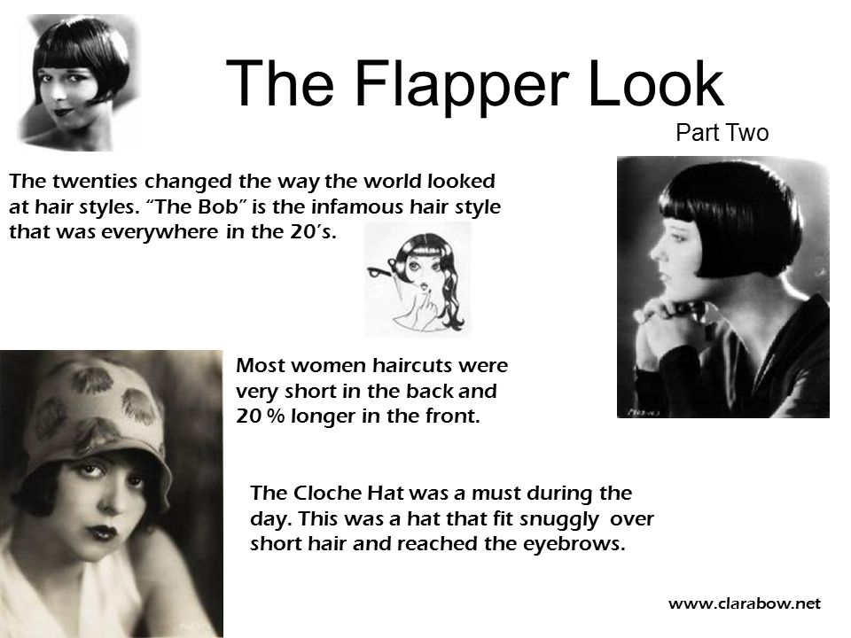 The Flapper Look Part Two