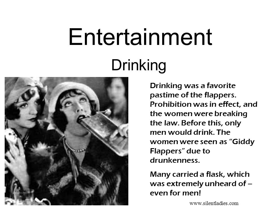 Entertainment Drinking