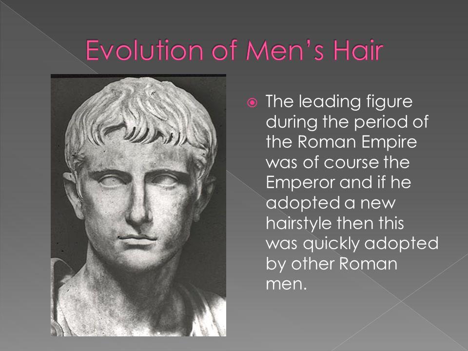 Evolution of Men's Hair