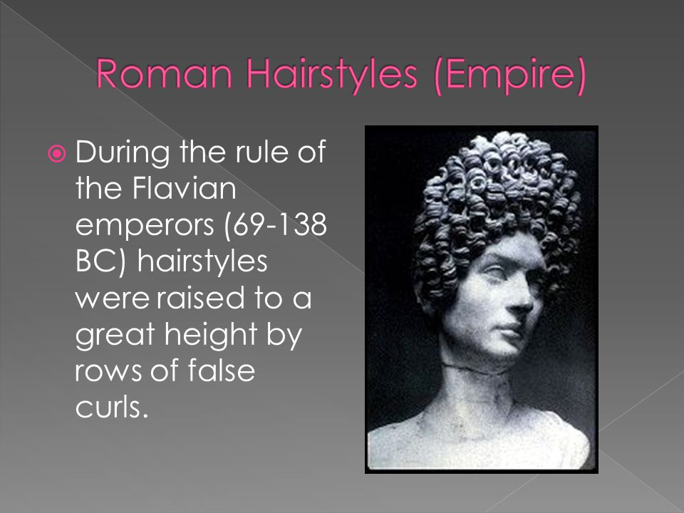 Roman Hairstyles (Empire)