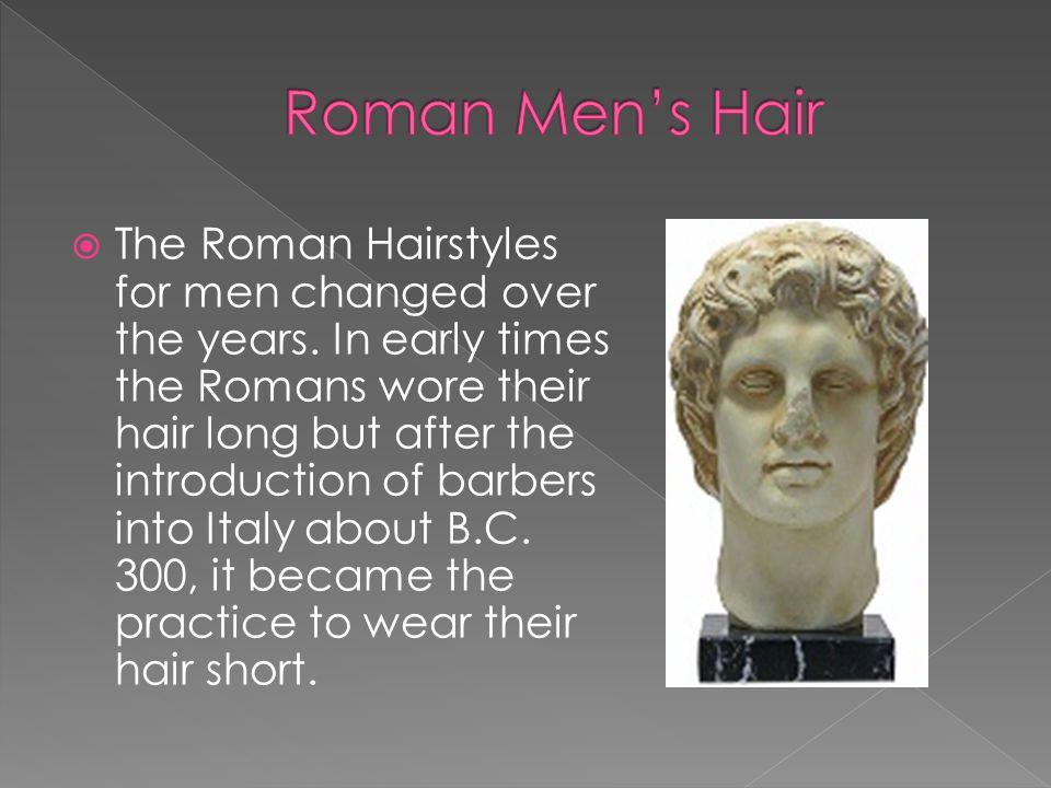 Roman Men's Hair