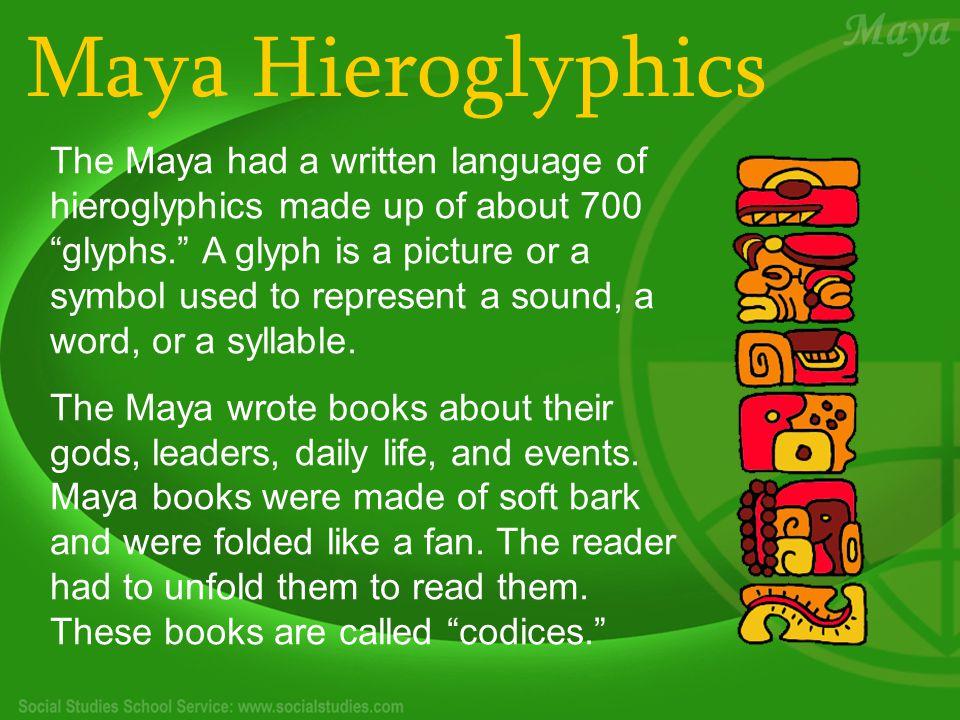 Maya Hieroglyphics