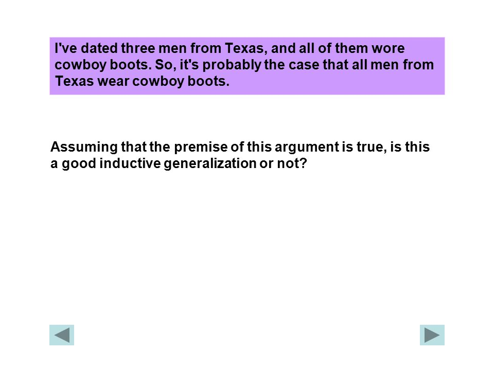 I ve dated three men from Texas, and all of them wore cowboy boots