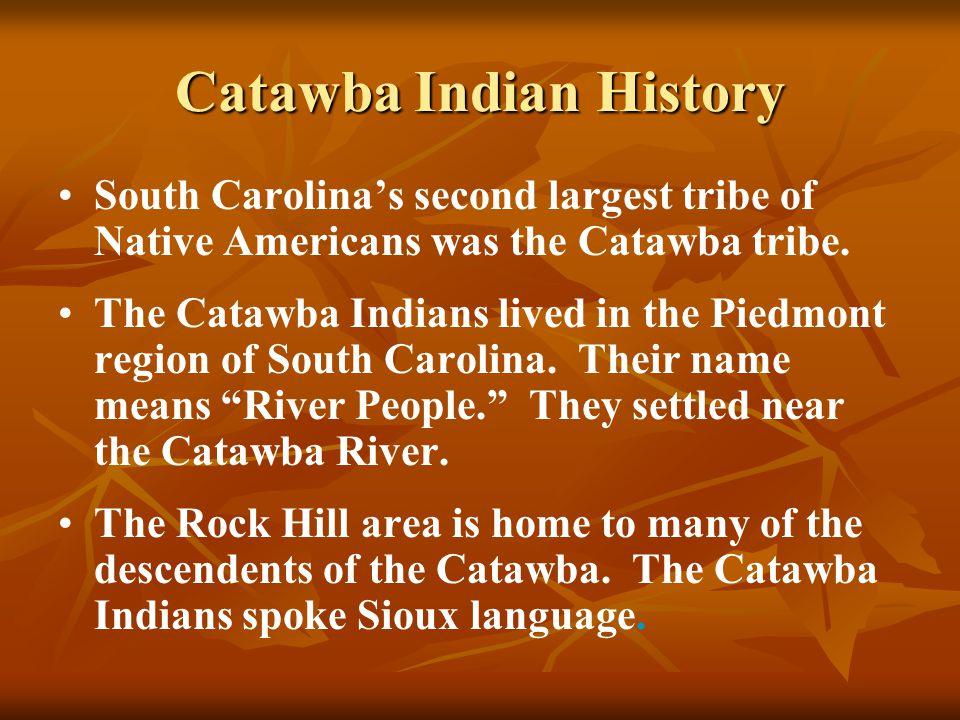 Catawba Indian History