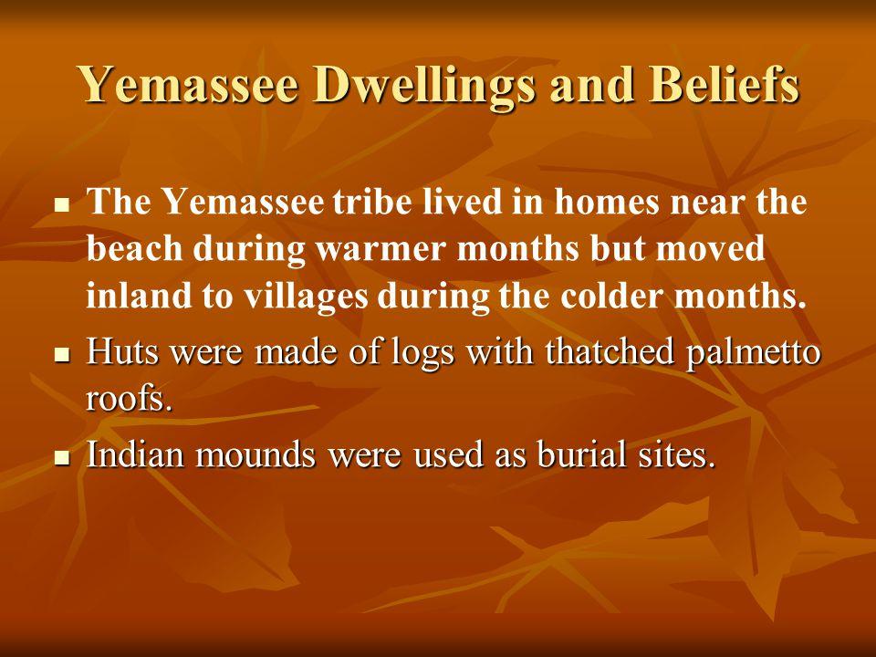 Yemassee Dwellings and Beliefs